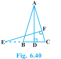 Triangles Exercise 6.3 Question No. 11