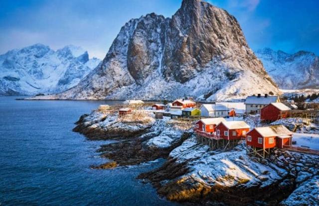 Destinasi Wisata Kepulauan Lofoten Norwegia
