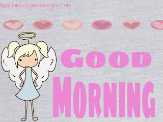 cute good morning card