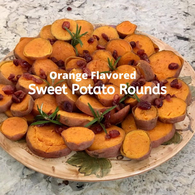 vegan sweet potato rounds