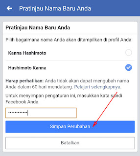 Cara Mengubah Nama di Facebook di HP Lewat Aplikasi 7