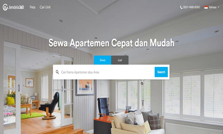 sewa apartemen murah terlengkap dan terpercaya di jendela360