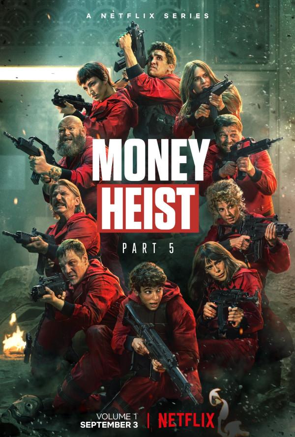 Money Heist S05 x264 720p Esub English Hindi GOPI SAHI