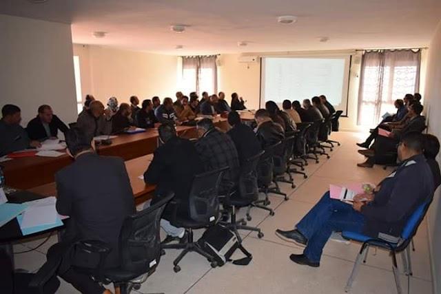 المديرية الإقليمية تنغير: لقاءان تنسيقيان حول التدابير الاستباقية للوقاية من الاضطرابات وسوء الأحوال الجوية بالمؤسسات التعليمية .