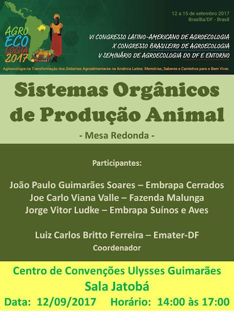 Sistemas Orgânicos de Produção Animal - CBA