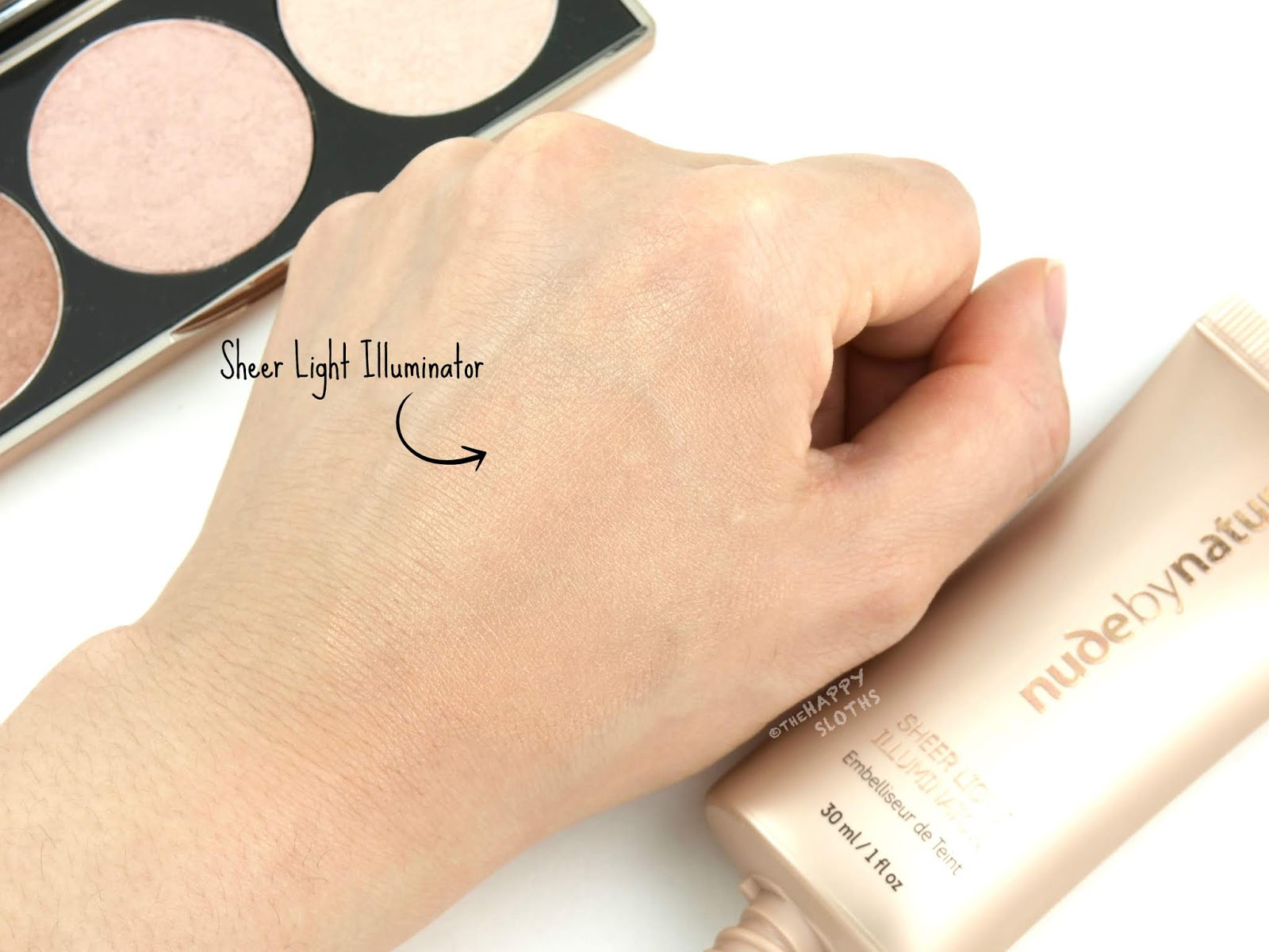 Nude by Nature | Sheer Light Illuminator: Review and Swatches