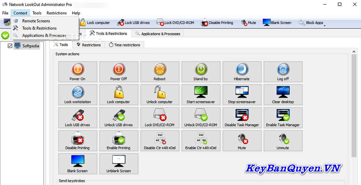 Download EduIQ Network LookOut Administrator Pro 4.6.14 Full Key, Phần mềm Giám sát Máy tính và Quản trị Mạng.