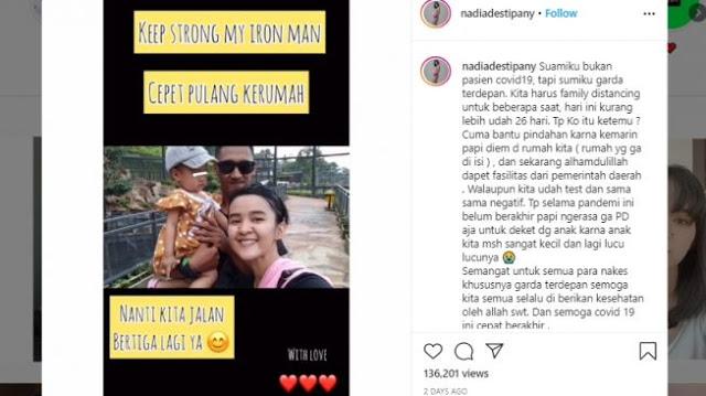 Cerita Pilu Medis Lawan Corona, Istri Meninggal Mendadak saat Jaga Jarak