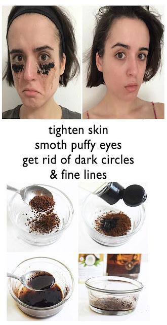 Remove The Dark Eye Circles With Coffee