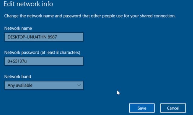 كيفية تغيير إسم شبكة الواى Wi-Fi والرقم السرى فى ويندوز 10