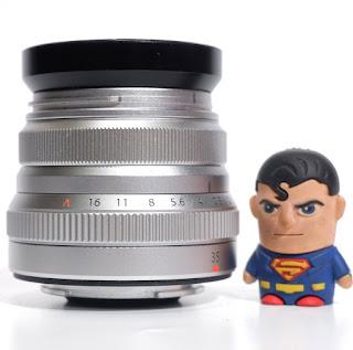 Lensa Fujifilm Fujinon XF 35mm F/2 R WR 2nd