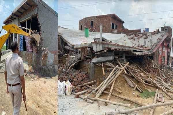 faridabad-sarurpur-village-illegal-colonies-demolished-24-july
