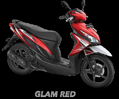 New Honda Vario 110 ESP CBS ISS 2017 Red Nagamas Motor Klaten
