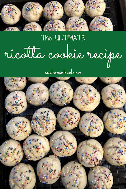 holiday cookies; sicilian cookie; italian cookie; holiday baking; ricotta cookie; plain cookies to eat with coffee; plain cookies; holiday dessert; traditional cookie recipe