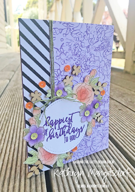 Stampin' Up! Sale-A-Bration Tea Together, Butterfly Elements, Botanical Butterfly Designer Series Paper created by Kathryn Mangelsdorf