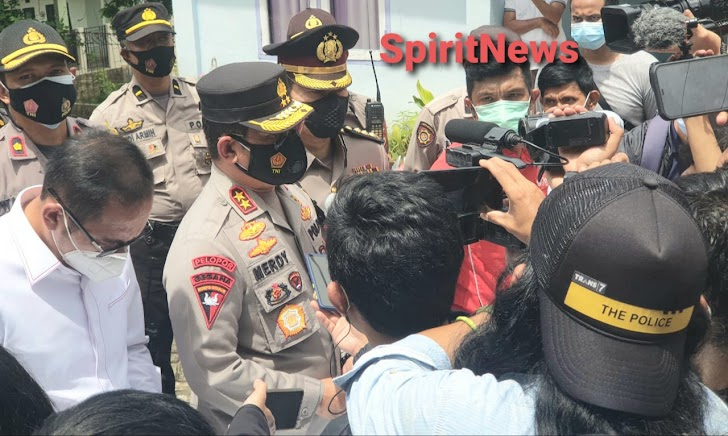 Teroris di Villa Mutiara Cluster Biru Kota Makassar