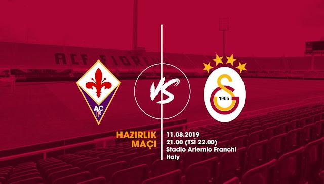 Hazırlık maçında rakip Fiorentina