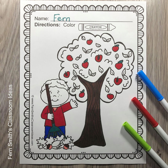 Click Here to Download This Apples Coloring Pages Resource For Your Classroom Today!