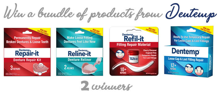 Win a bundle of dental care products from Dentemp
