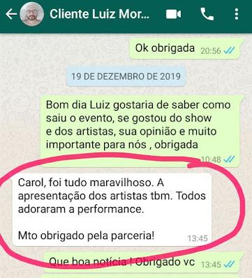 """Depoimento sobre """"Performance flow"""" malabares logo e luzes do cliente da empresa Imerys São paulo"""