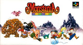 Monstania - Caja NTSC Jap