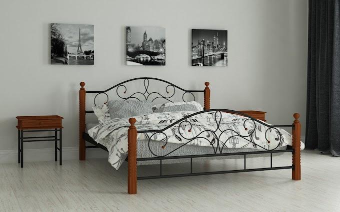 Кровать металлическая Гледис 120х190/200 ТМ Мадера