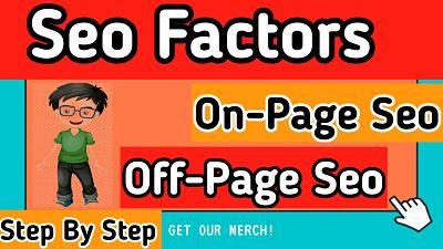 On-Page Seo aur Off-Page Seo Kya hai (Step-by-Step)
