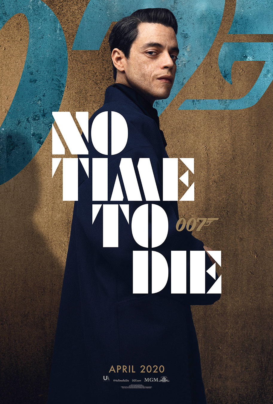 NO TIME TO DIE POSTER (#6 OF 12) - OKAY BHARGAV