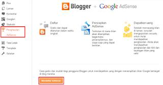 Mendaftarkan Blog ke Google Adsense