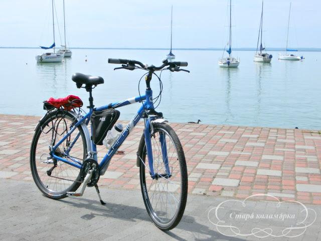 велопутешествия по Европе, велодорожки Балатона, Балатон, отзывы, отдых на Балатоне, Балатон города