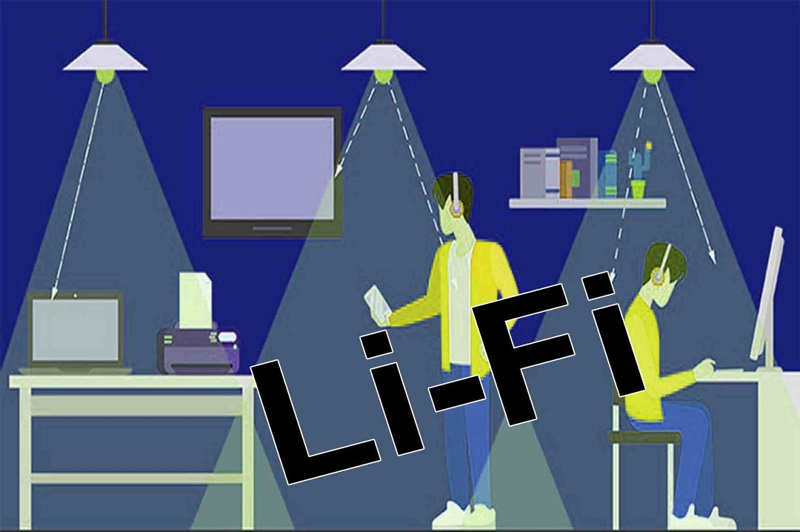 Lifi Technology Speed,Difference beetween Lifi and Wifi