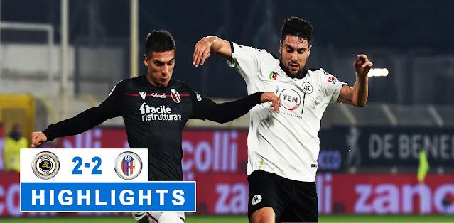 Spezia vs Bologna – Highlights
