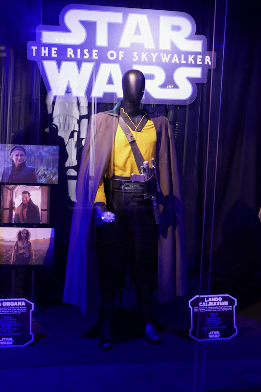 Billy Dee Williams Star Wars Rise Skywalker Lando Calrissian costume