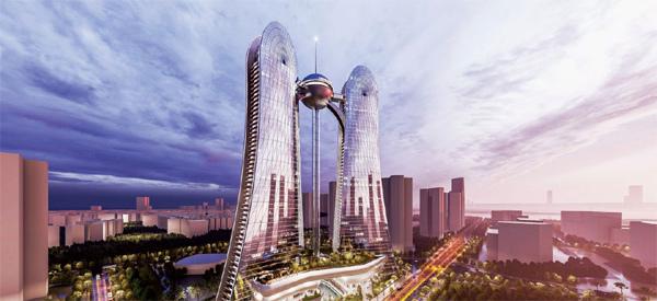 dự án Sunshine Dragon Twins Tower