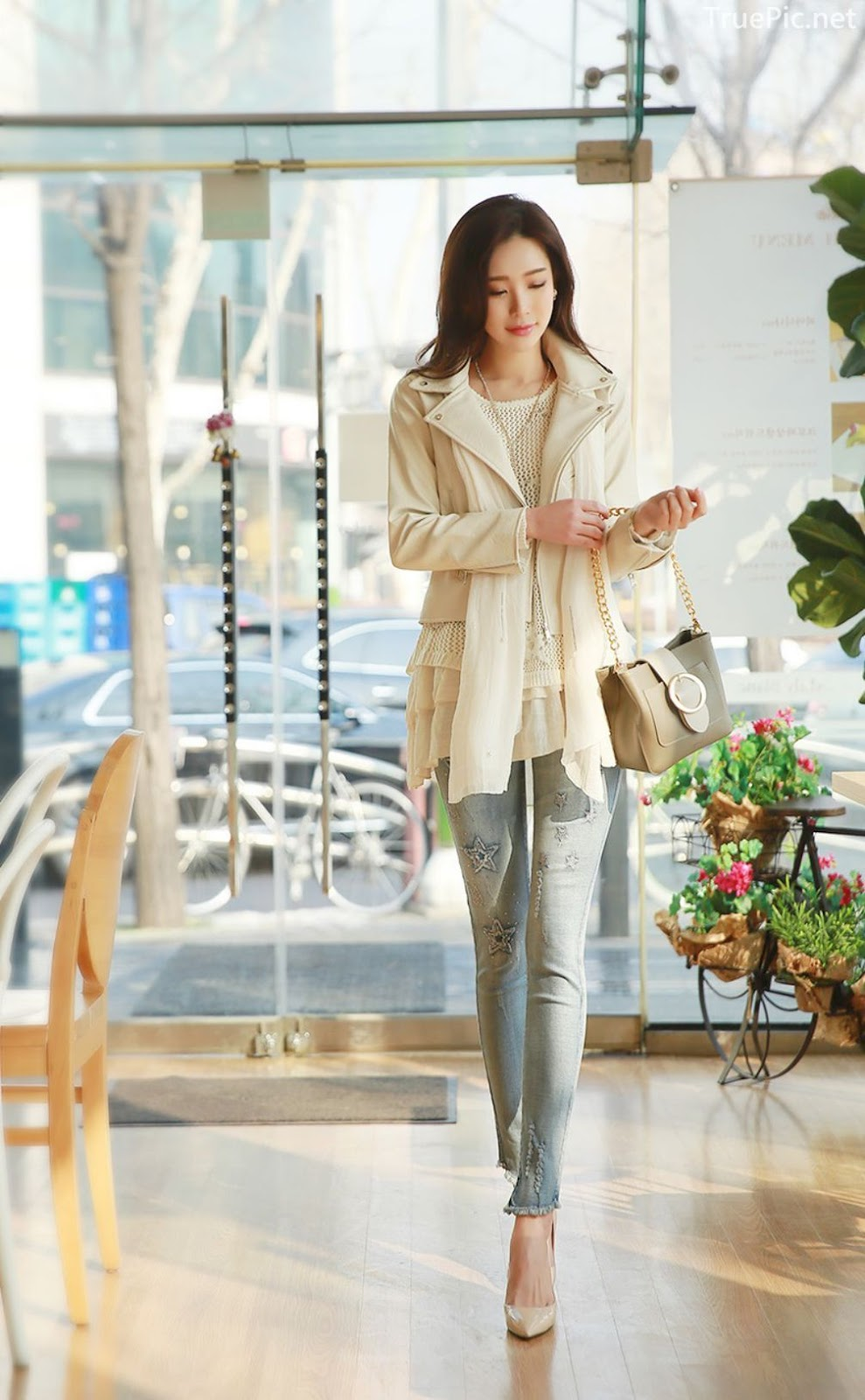 Korean Fashion Model - Park Da Hyun - Indoor Photoshoot Collection - TruePic.net - Picture 9