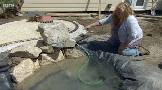 Charlie Dimmock water feature