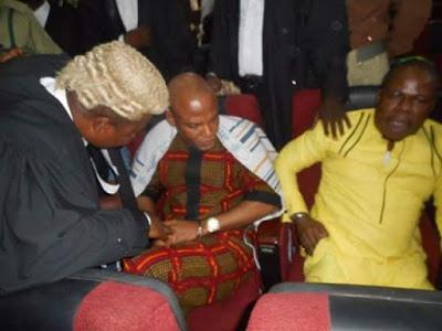 Nnamdi Kanu, Secret Trial