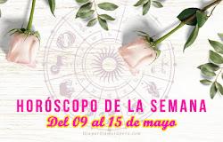 💫 Horóscopo de la semana: Del 09 al 15 de mayo
