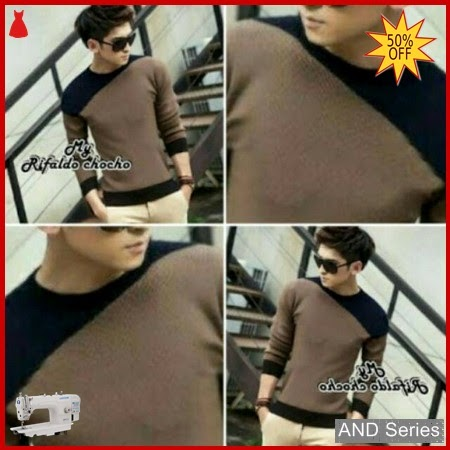 AND220 Sweater Pria Rifaldo Choco Murah BMGShop