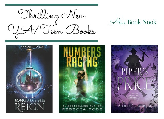 Thrilling New Teen Young Adult Books in February