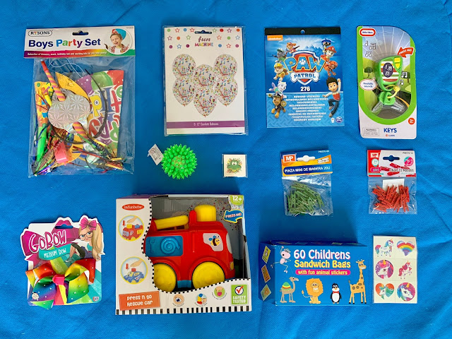 an assortment of items from PoundToy as described above
