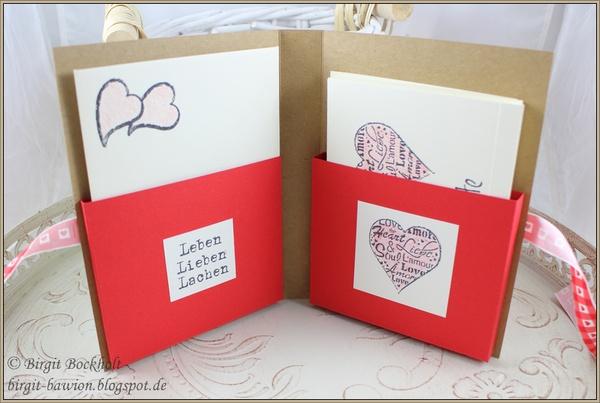 Kartenbox mit Anleitungslink