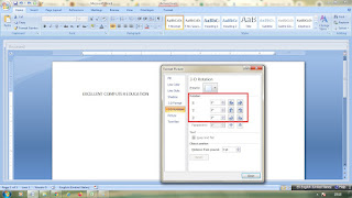3 Different Method to Rotate Text in Word in Hindi