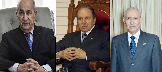 الرئيس إبراهيم غالي يعزي نظيره عبد المجيد تبون في وفاة الرئيس السابق عبد العزيز بوتفليقة.
