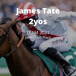 Anak Usia Dua Tahun (2 tahun) James Tate untuk Musim Datar 2021