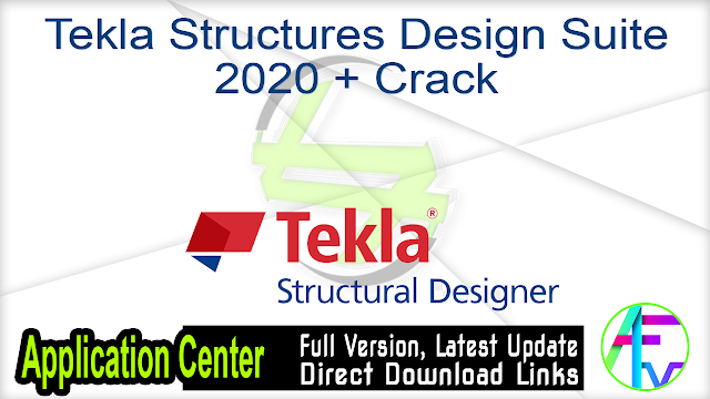 Tekla Structures Design Suite 2020 + Crack