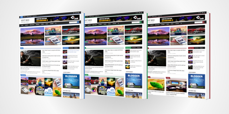 Best Mag Responsive Template