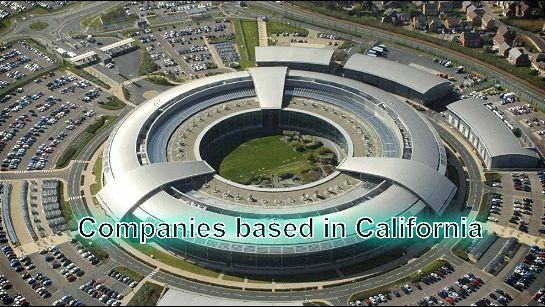 Companies based in California