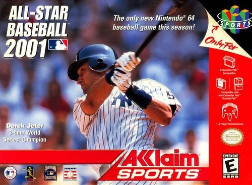 a3bbdb3715 The next year, Acclaim released All Star Baseball 2001. Instead of the  usual grey game cartridge, it was a spiffy red one. I had mine on pre-order  and was ...