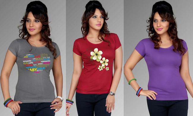 Cara Memilih Baju Kaos Wanita